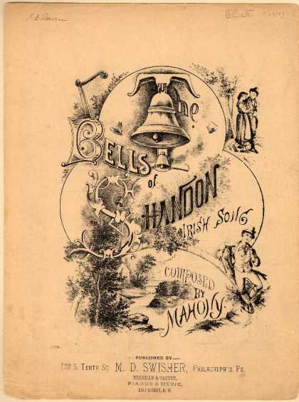 Sheet Music - Bells of Shandon; Irish song