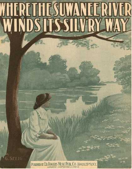 Sheet Music - Where the Suwanee River winds its silv'ry way