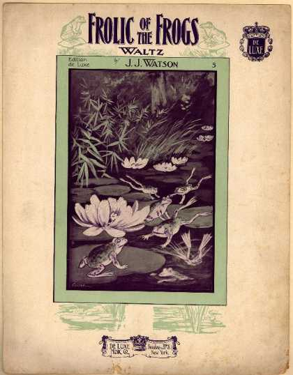 Sheet Music - Frolic of the frogs