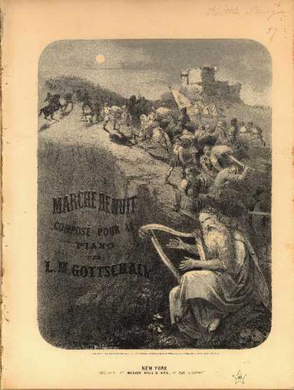 Sheet Music - Marche de nuit