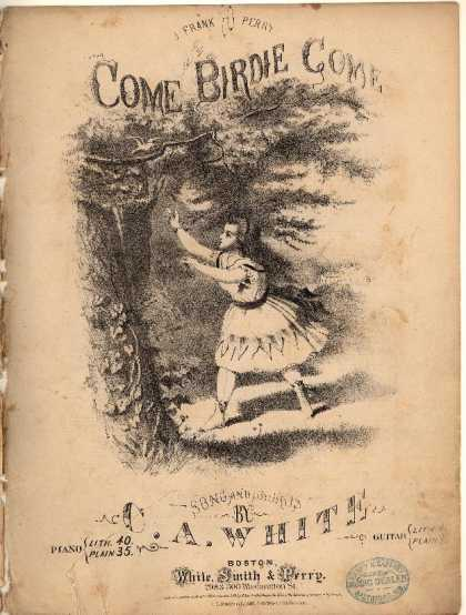 Sheet Music - Come birdie come