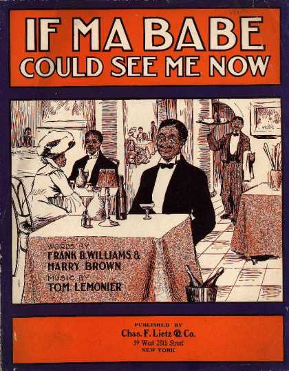 Sheet Music - If ma babe could see me now