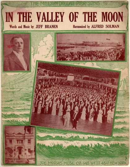 Sheet Music - In the valley of the moon