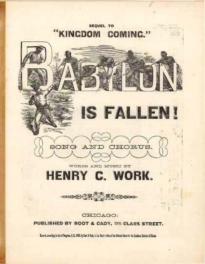 Sheet Music - Babylon is fallen!; Sequel to Kingdom coming