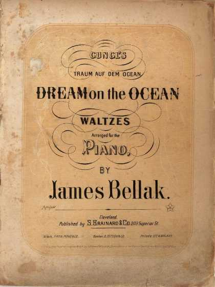 Sheet Music - Dream of the ocean; Dream on the ocean; Traum auf dem Ocean