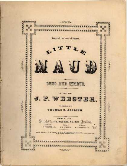 Sheet Music - Little Maud