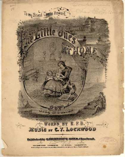 Sheet Music - Little ones at home