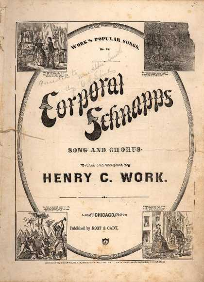 Sheet Music - Corporal Schnapps