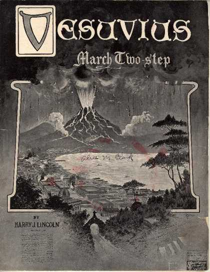 Sheet Music - Vesuvius march two-step
