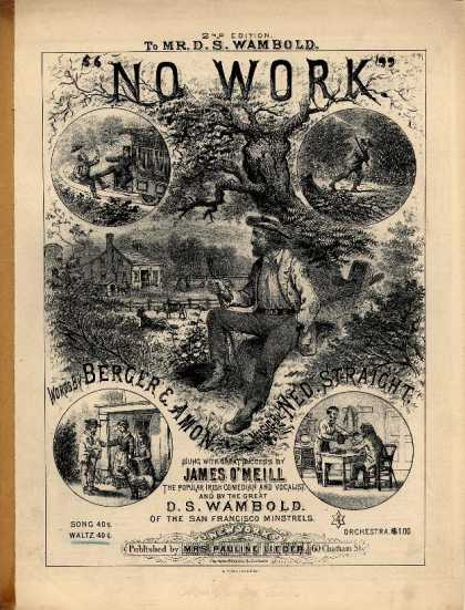 Sheet Music - No work waltz