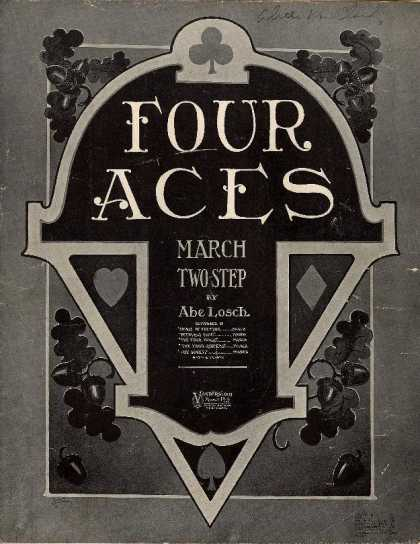 Sheet Music - Four aces