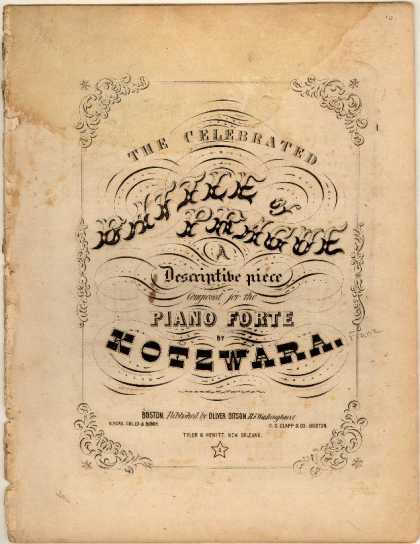 Sheet Music - Celebrated Battle of Prague