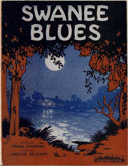 Sheet Music - Swanee blues
