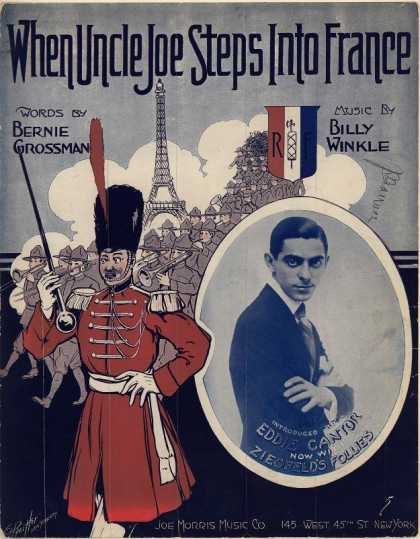 Sheet Music - When Uncle Joe steps into France
