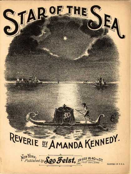 Sheet Music - Star of the sea; Reverie