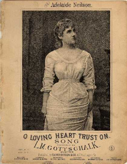 Sheet Music - O loving heart trust on