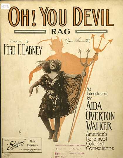 Sheet Music - Oh, you devil