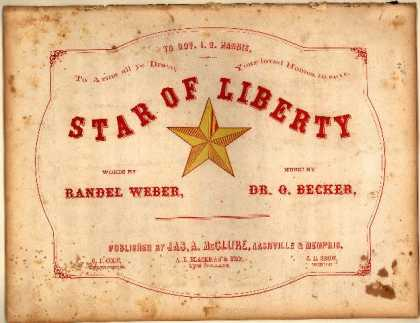 Sheet Music - Star of liberty