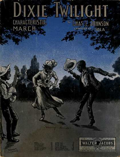 Sheet Music - Dixie twilight; Characteristic march