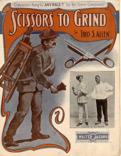 Sheet Music - Scissors to grind