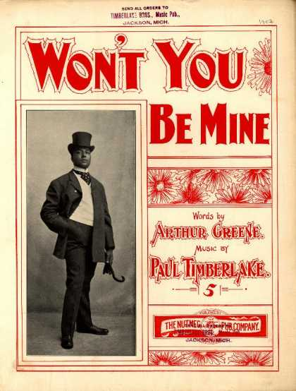 Sheet Music - won't you be mine