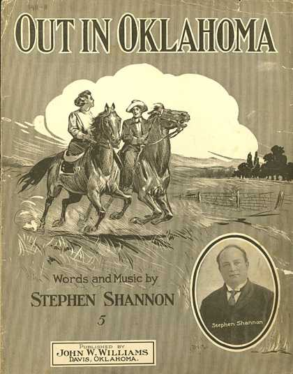 Sheet Music - Out in Oklahoma