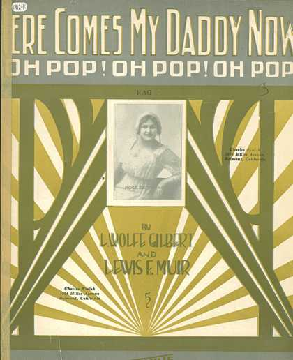 Sheet Music - Here Comes My Daddy Now