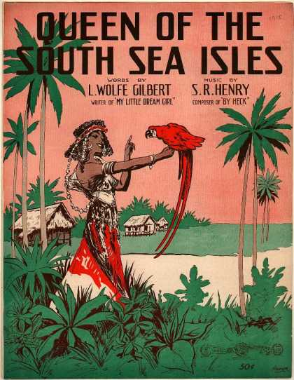 Sheet Music - Queen of the south sea isles