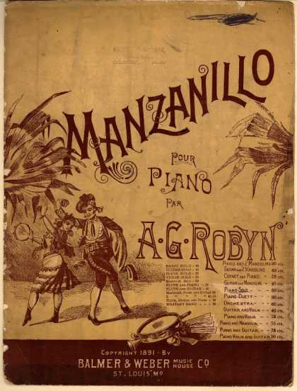 Sheet Music - Manzanillo; Danza Mexicana