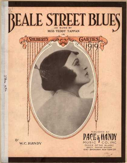 Sheet Music - Beale Street blues