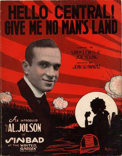 Sheet Music - Hello Central! Give me no man's land; Sinbad