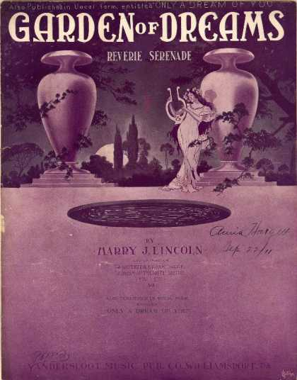Sheet Music - Garden of dreams; Reverie serenade