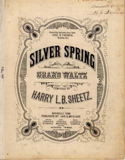Sheet Music - Silver spring grand waltz