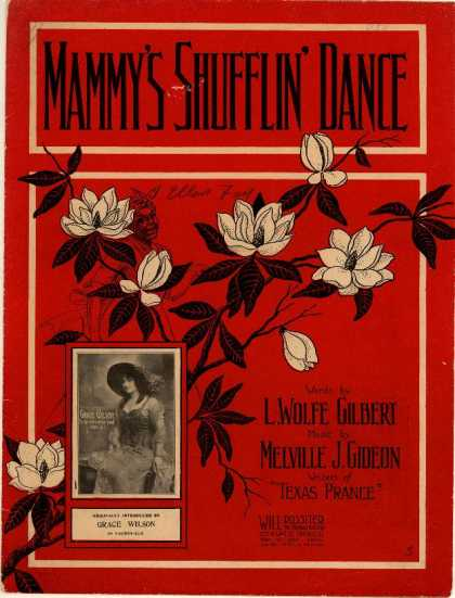 Sheet Music - Mammy's shufflin' dance