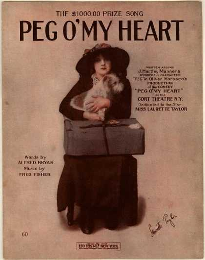 Sheet Music - Peg o'my heart