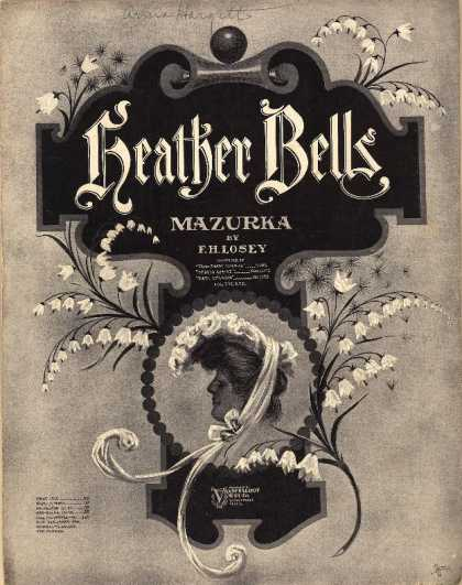 Sheet Music - Heather bells mazurka; Op. 201