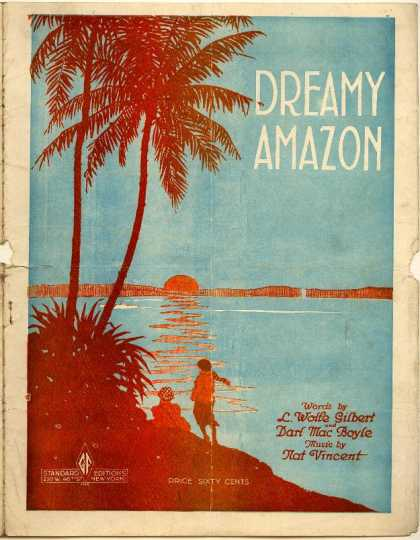 Sheet Music - Dreamy Amazon