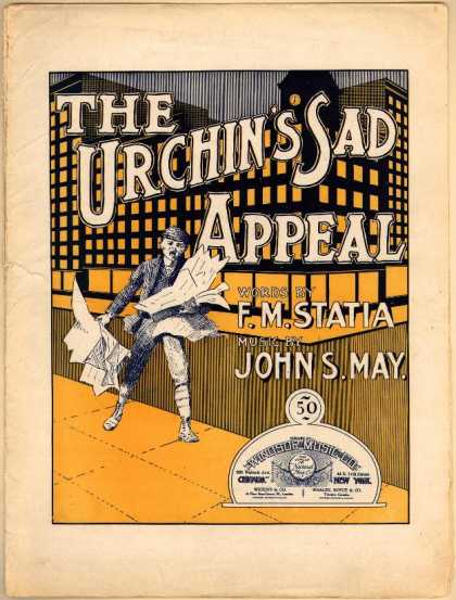 Sheet Music - The urchin's sad appeal