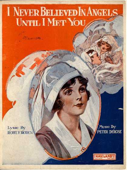 Sheet Music - I never believed in angels until I met you; Girl of the cross