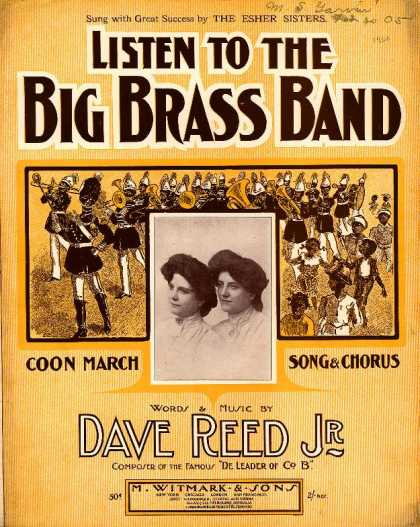 Sheet Music - Listen to the big brass band