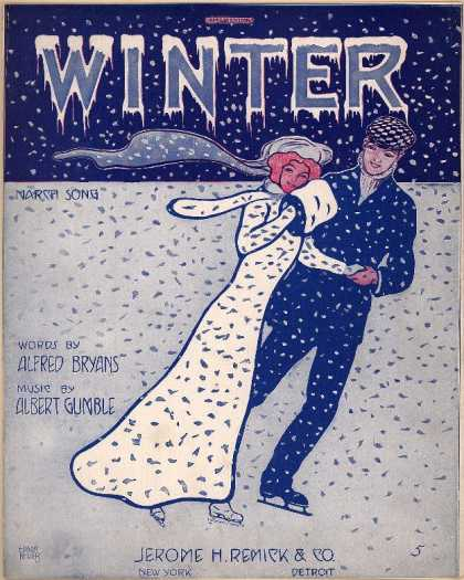 Sheet Music - Winter