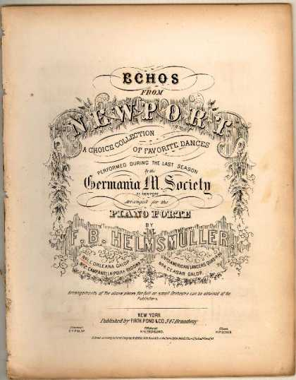 Sheet Music - L'Orleana galop