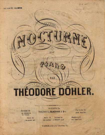 Sheet Music - Nocturne pour piano