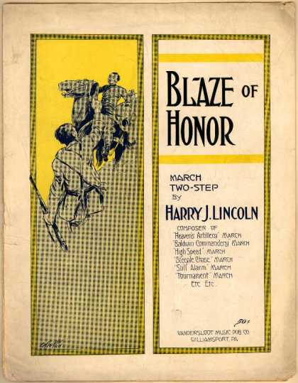 Sheet Music - Blaze of honor