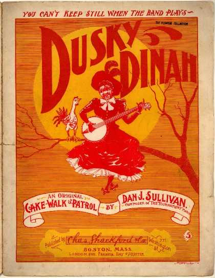 Sheet Music - Dusky Dinah: Cake-walk and patrol