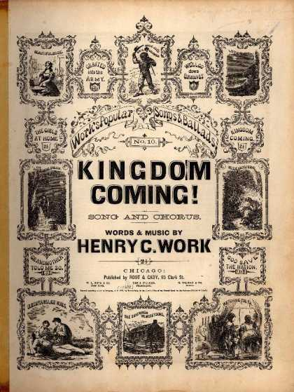 Sheet Music - Kingdom coming!