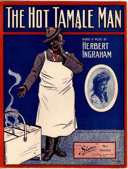 Sheet Music - The hot tamale man