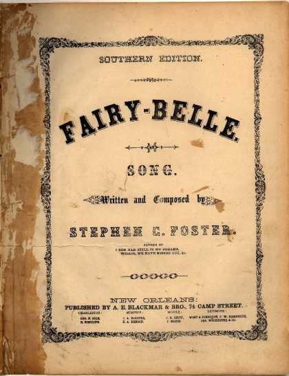 Sheet Music - Fairy-belle