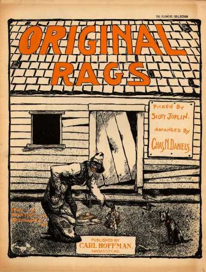 Sheet Music - Original rags