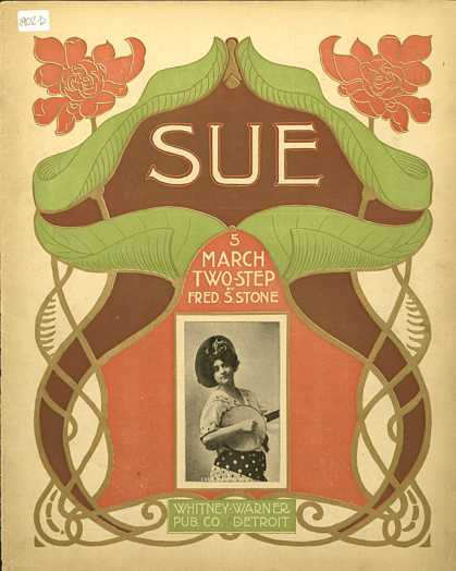 Sheet Music - Sue